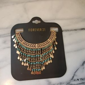 Forever 21 statment necklace